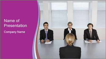 job interview powerpoint template backgrounds google slides id