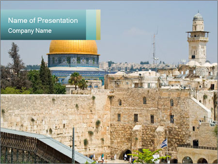Judaism Powerpoint Template Smiletemplates Com