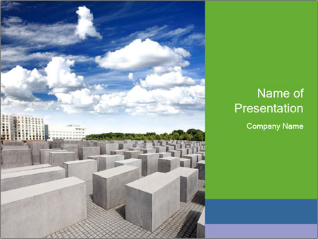 Famous Jewish Memorial Powerpoint Template Backgrounds Google