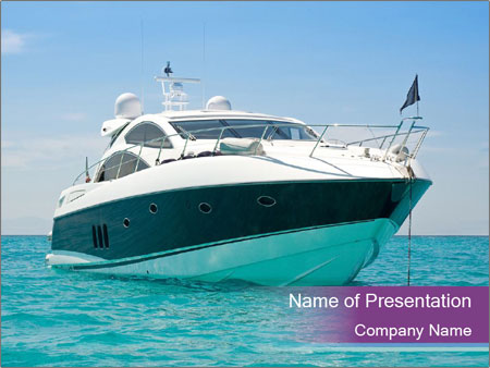 Yacht powerpoint template smiletemplates luxury yacht powerpoint templates toneelgroepblik Image collections