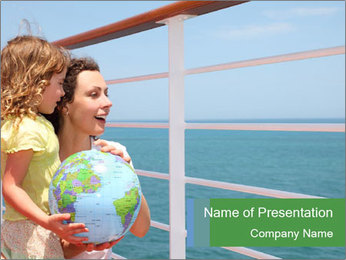 Family Tourism PowerPoint Template