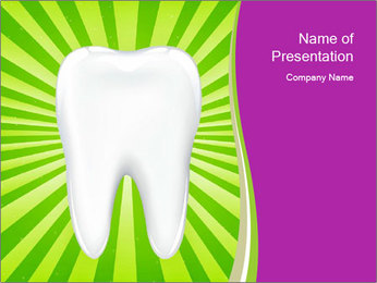 Healthy Tooth PowerPoint Template