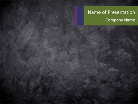 dark concrete texture powerpoint template & backgrounds id, Modern powerpoint