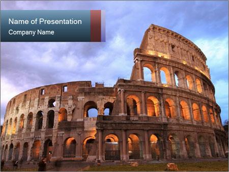 Impressive colosseum in rome powerpoint template backgrounds id impressive colosseum in rome powerpoint template toneelgroepblik Gallery