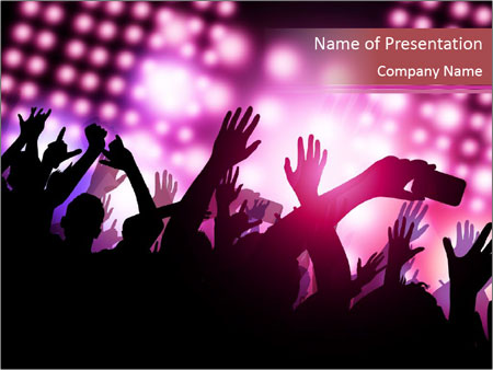 Cosmopolitan Party Powerpoint Template Backgrounds Google Slides