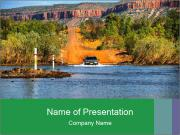 River powerpoint template smiletemplates australian river bank powerpoint templates toneelgroepblik Gallery