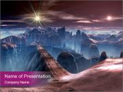 Futuristic World Шаблоны презентаций PowerPoint