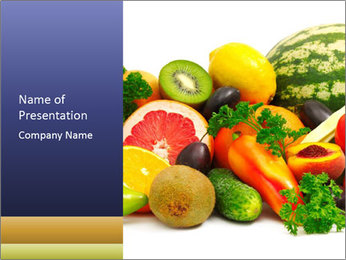 Fruit Season PowerPoint Template