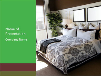 Parents Bedroom PowerPoint Template