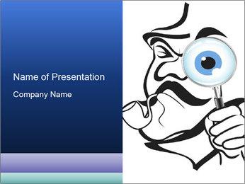 Sherlock Holmes Illustration PowerPoint Template