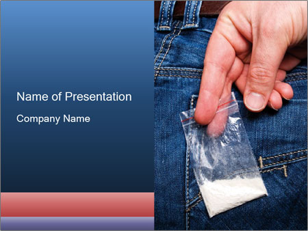 Pack Of Cocaine Powerpoint Template Backgrounds Google Slides