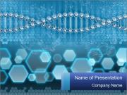 DNA in Microscope Modèles des présentations  PowerPoint
