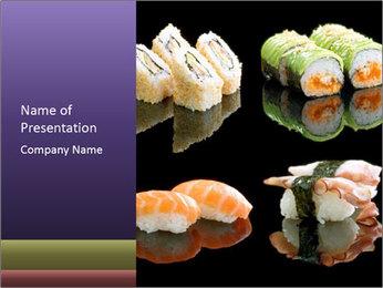 Japanese Restaurant Menu PowerPoint Template