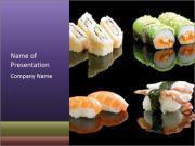 Japanese Restaurant Menu PowerPoint Templates