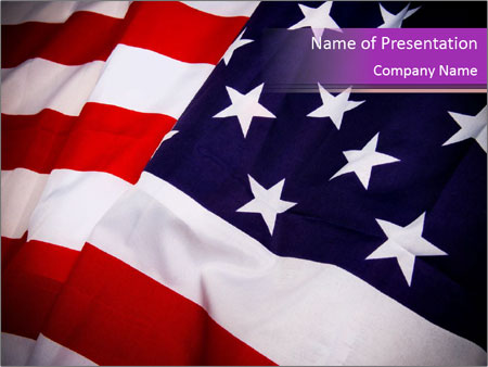 national flag of america powerpoint template backgrounds google