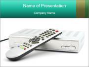 Digital Video Player Шаблоны презентаций PowerPoint