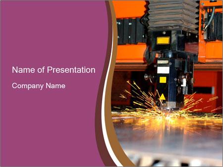 Work with industrial laser powerpoint template backgrounds id work with industrial laser powerpoint template toneelgroepblik Choice Image