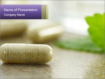Herbal Supplement PowerPoint Template