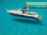 Sailing powerpoint template smiletemplates sailing in crystal water powerpoint templates toneelgroepblik Images