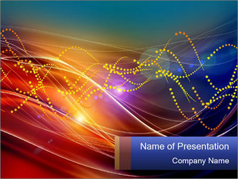 Abstract Dynamic Motions PowerPoint Template