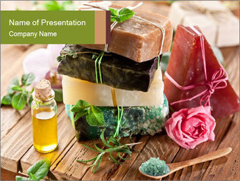 Organic Soaps PowerPoint Template