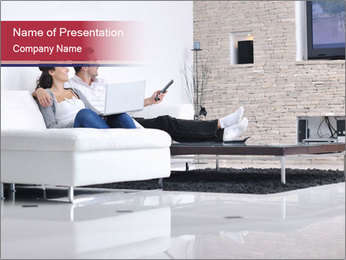 TV Entertainment PowerPoint Template