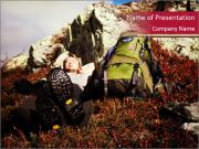Hiking Tour in Norway PowerPoint Templates