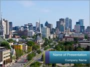Beautiful Montreal City PowerPoint Templates