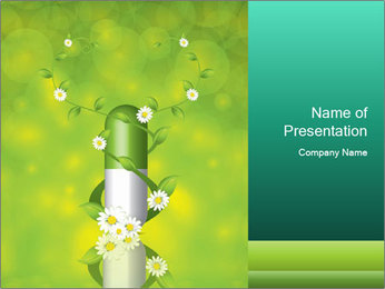 Natural Deo PowerPoint Template