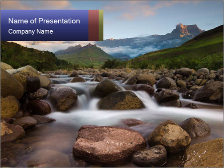 Rocky river powerpoint template backgrounds id 0000029066 rocky river powerpoint templates toneelgroepblik