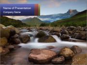 River powerpoint template smiletemplates rocky river powerpoint template toneelgroepblik Choice Image