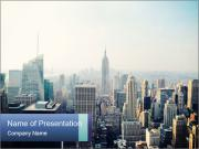 New york powerpoint template smiletemplates impressive new york city powerpoint template toneelgroepblik Image collections