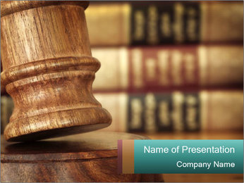 Judgment PowerPoint Template
