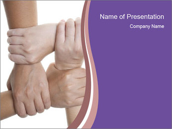 Solidarity in Business PowerPoint Template