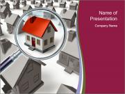 Search for Perfect House PowerPoint Templates