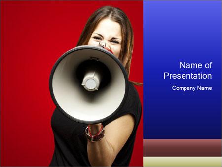 announcement powerpoint template smiletemplates com