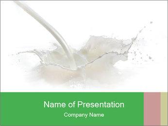 Milkshake PowerPoint Template