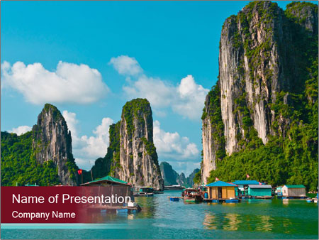 Beautiful nature in vietnam powerpoint template backgrounds id beautiful nature in vietnam powerpoint template toneelgroepblik Images