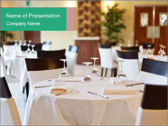 Elegant Restaurant PowerPoint Template