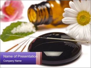 Homeopathic Treatment PowerPoint Template