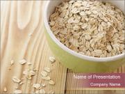 Organic Oatmeal PowerPoint Templates