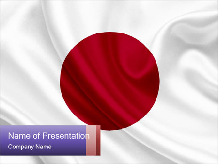 National japan flag powerpoint template backgrounds id 0000029581 national japan flag powerpoint template toneelgroepblik Image collections