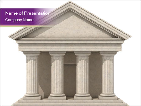 3d marble palace powerpoint template backgrounds id 0000029594 3d marble palace powerpoint template toneelgroepblik Gallery