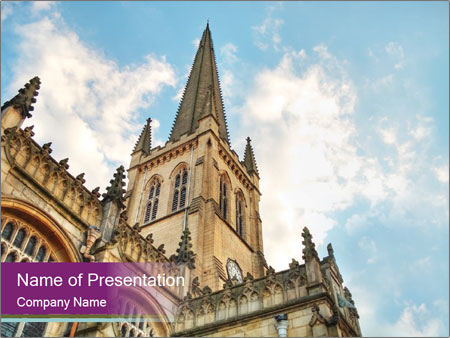 Beautiful cathedral powerpoint template backgrounds id 0000029618 beautiful cathedral powerpoint template toneelgroepblik Choice Image