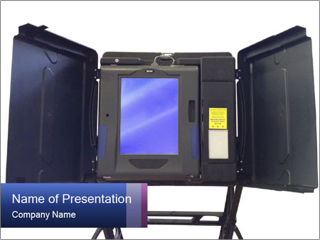 voting powerpoint template smiletemplates com