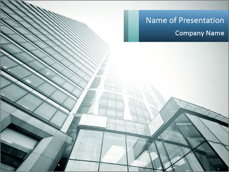 luxury real estate powerpoint template & backgrounds id 0000029708, Modern powerpoint
