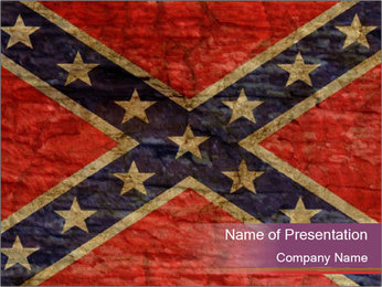 Vintage Flag PowerPoint Template