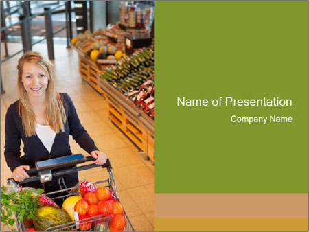 Organic supermarket powerpoint template backgrounds id 0000029815 organic supermarket powerpoint template toneelgroepblik Image collections