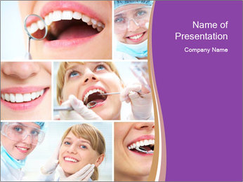 Orthodontist Work PowerPoint Template