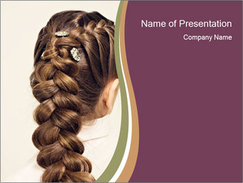 Creative Hairdo PowerPoint Template